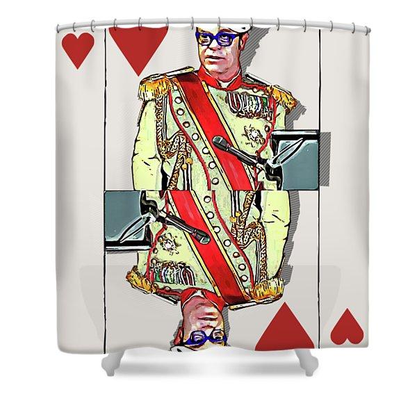 The Kings - Elton John Shower Curtain