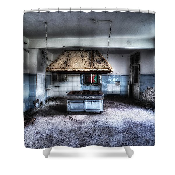 The Kitchen - La Cucina Shower Curtain