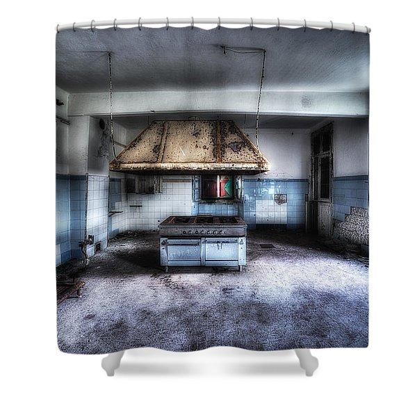 The Kitchen - La Cucina Shower Curtain