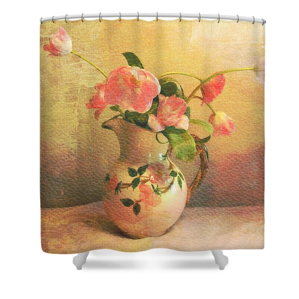 The Language Of Flowers Shower Curtain