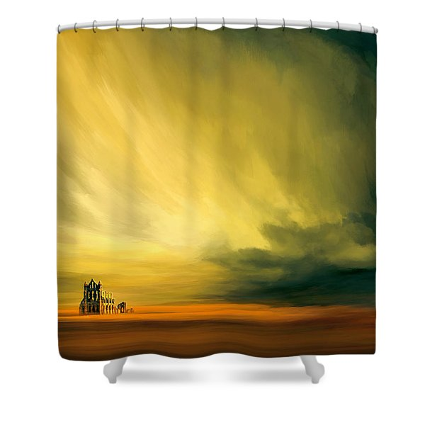 The Last Archive Shower Curtain