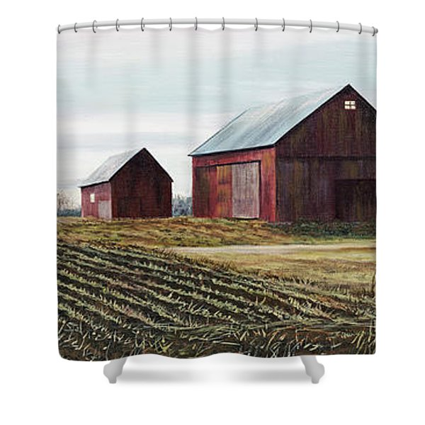 The Last Day Of Winter Shower Curtain