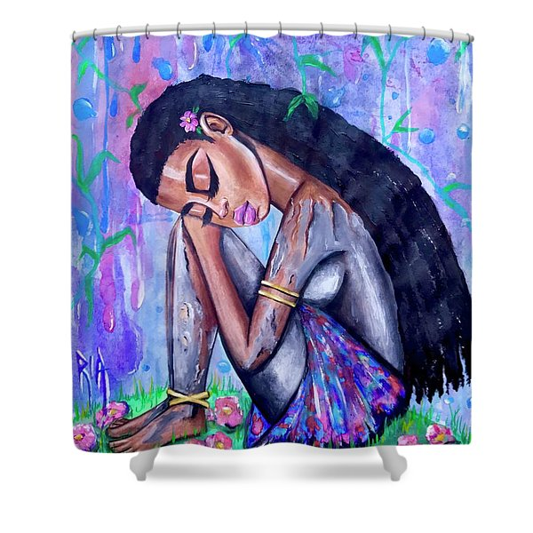 The Last Eve In Eden Shower Curtain
