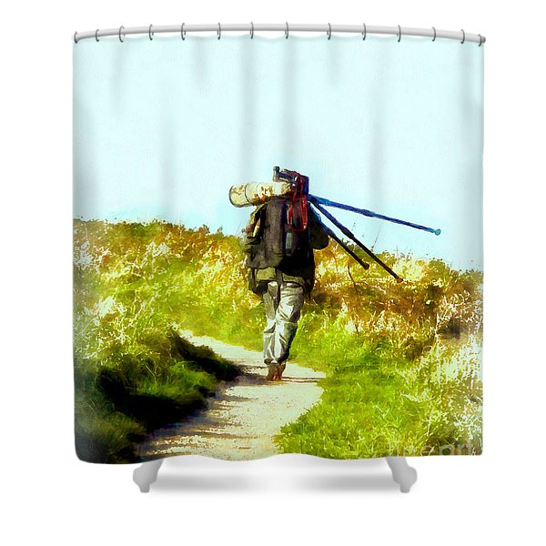 The Last Shot Shower Curtain