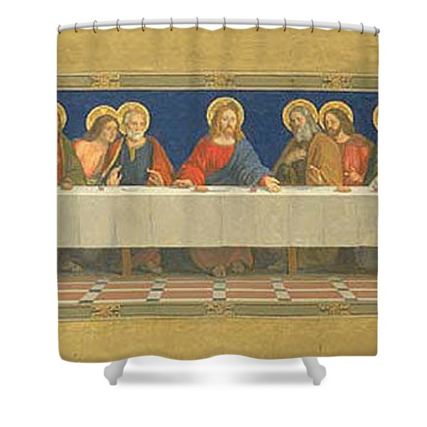 The Last Supper Henry Siddons Mowbray Shower Curtain