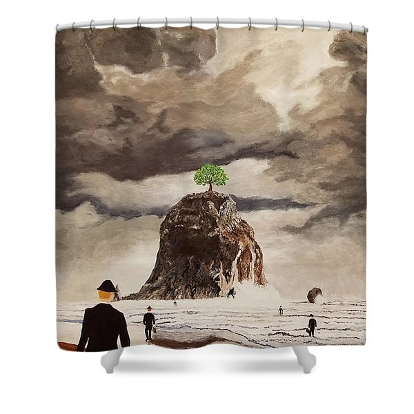 The Last Tree Shower Curtain