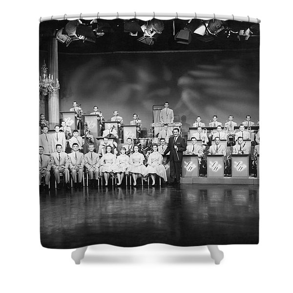 The Lawrence Welk Show Shower Curtain