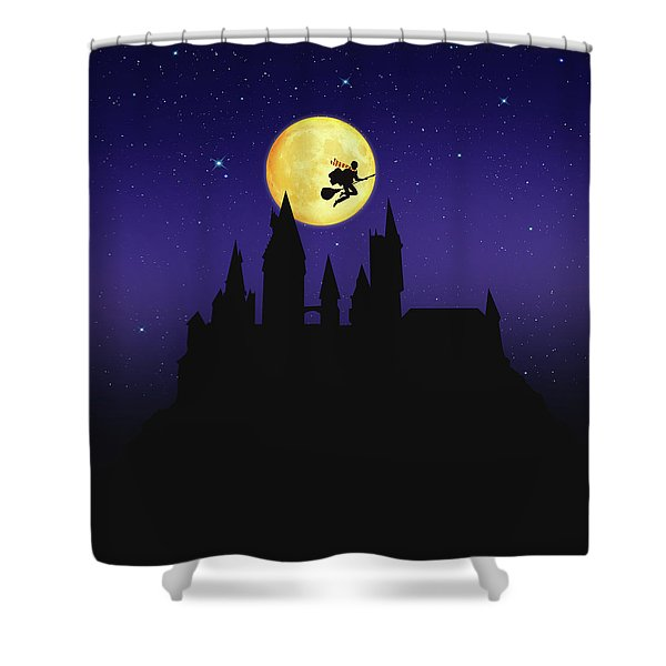 The Legend Of Witch Shower Curtain