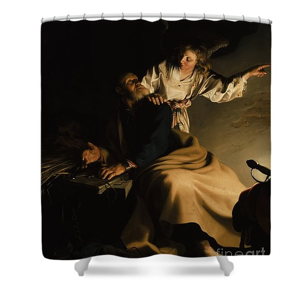The Liberation Of Saint Peter Shower Curtain