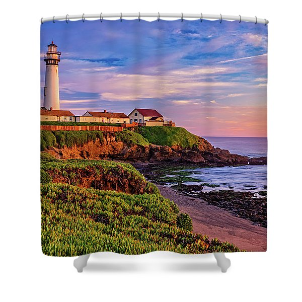 The Light Of Sunset Shower Curtain