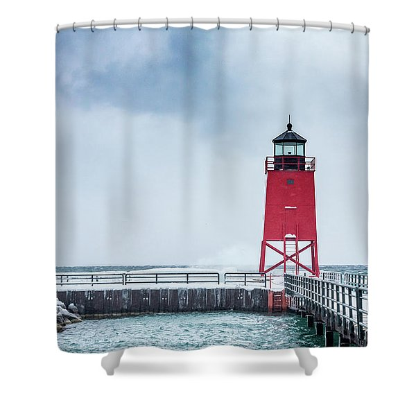 The Lighthouse Shower Curtain