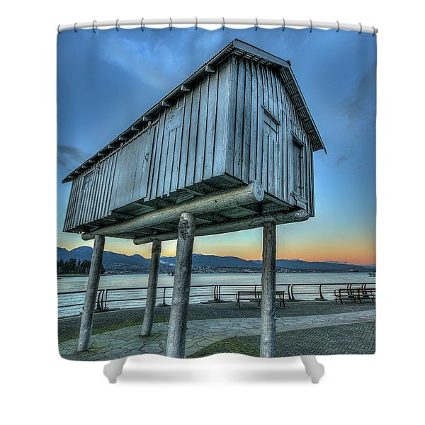 The Lightshed By Liz Magor Shower Curtain