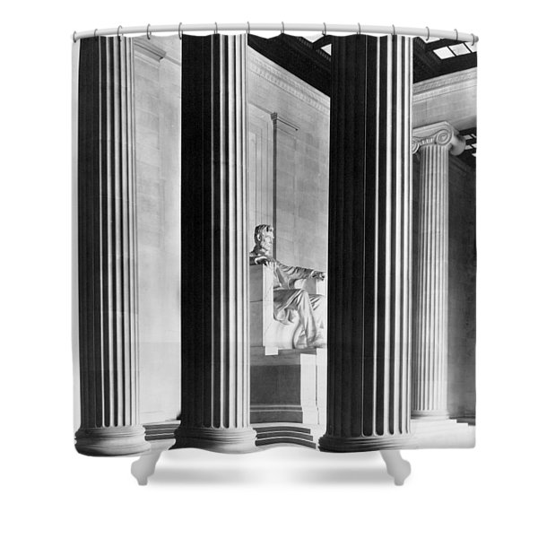The Lincoln Memorial Shower Curtain