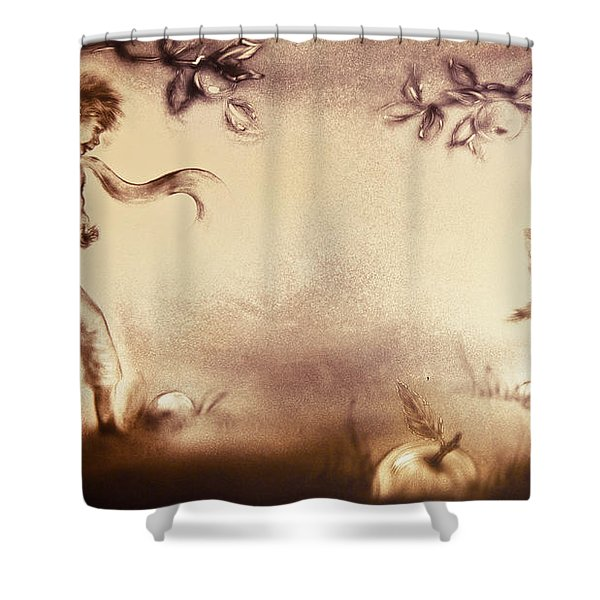 The Little Prince And The Fox Shower Curtain