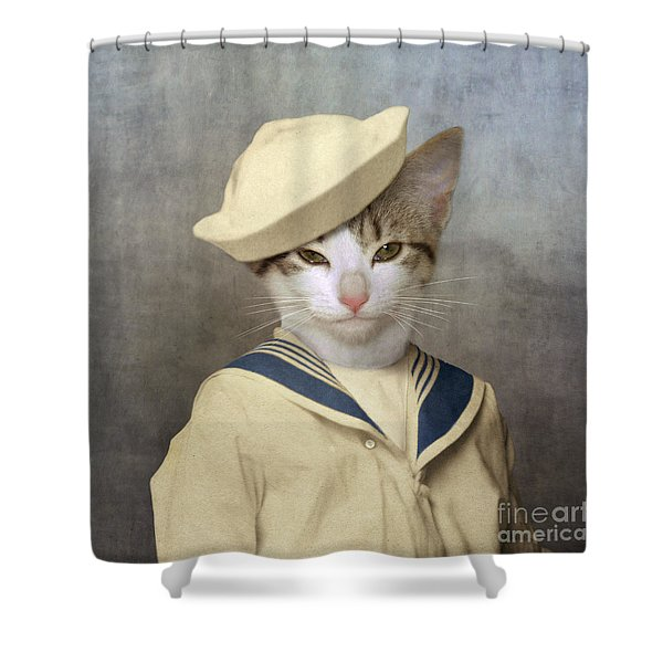 The Little Rascal Shower Curtain