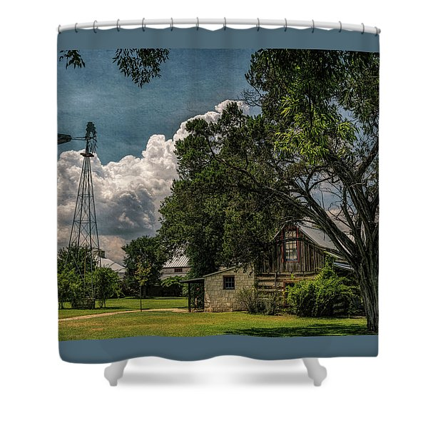 The Little Winery In Stonewall Shower Curtain