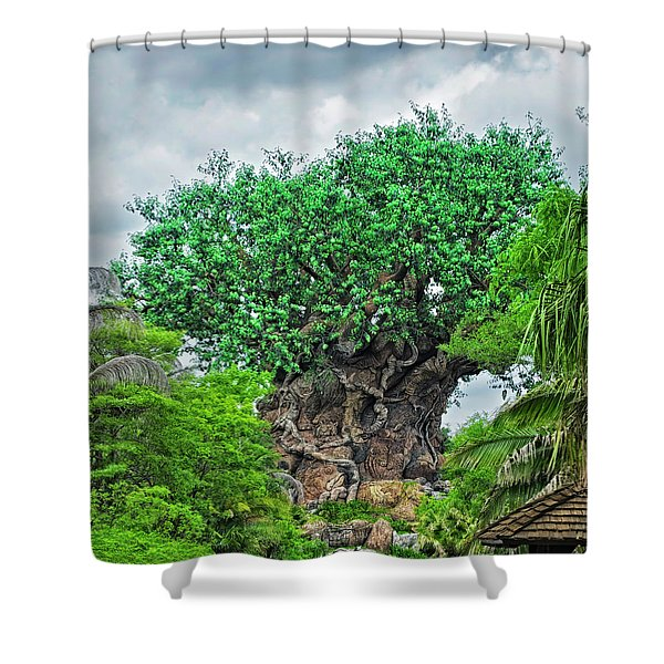 The Living Tree Walt Disney World Mp Shower Curtain