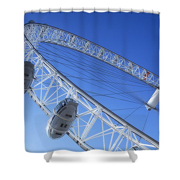 The London Eye, Close-up Shower Curtain