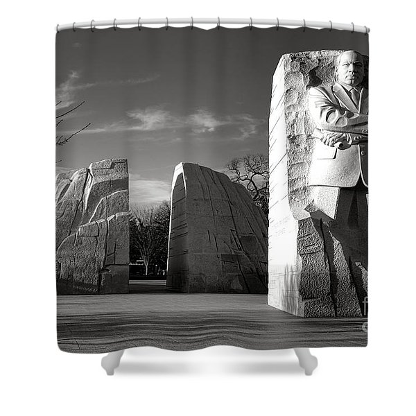 The Lone Leader Shower Curtain