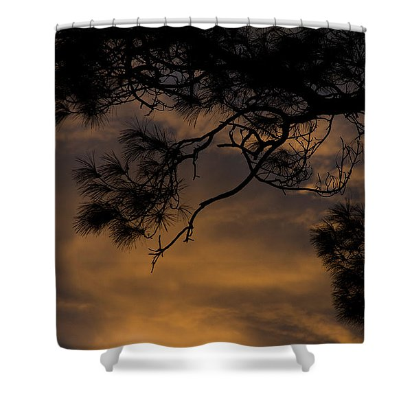 The Long Day Is Over Shower Curtain