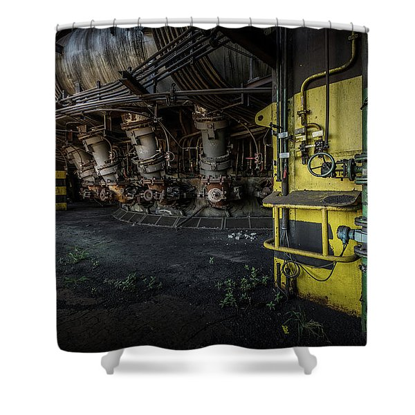 The Machinist Shower Curtain