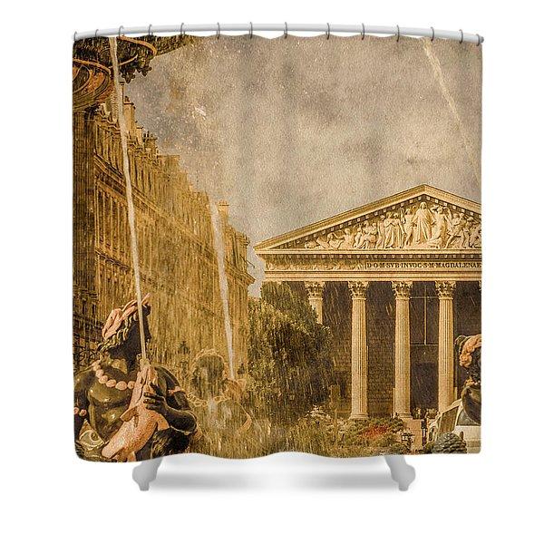 Paris, France - The Madeleine Shower Curtain