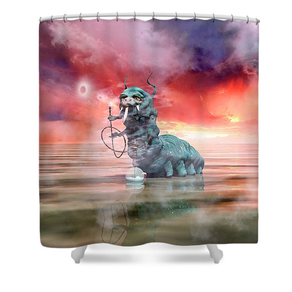 The Madness Of It All Shower Curtain