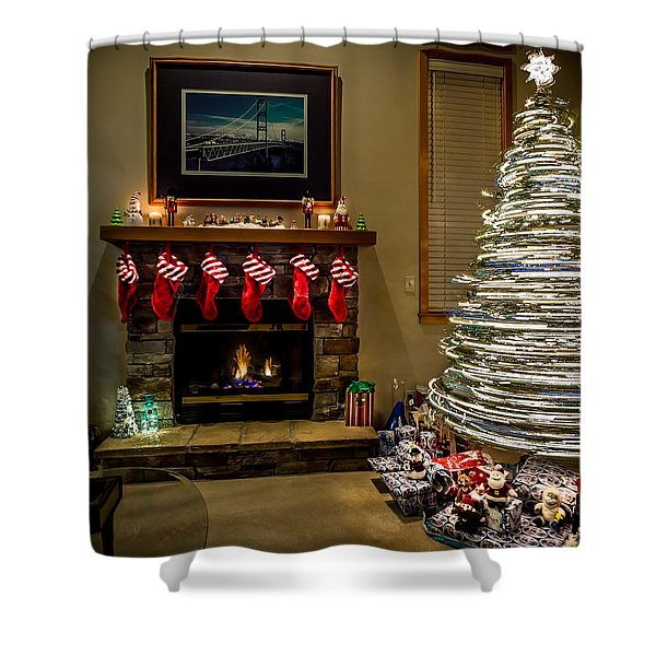 The Magic Of Christmas Shower Curtain