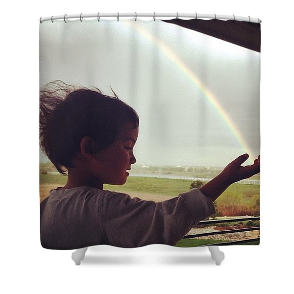 Magic Of The Universe Shower Curtain