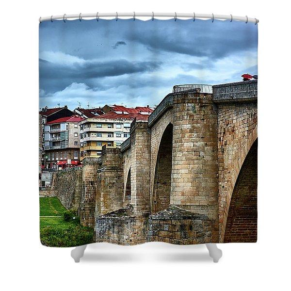 The Majestic Ponte Vella Shower Curtain
