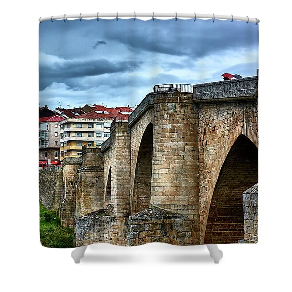 The Majestic Ponte Vella Shower Curtain