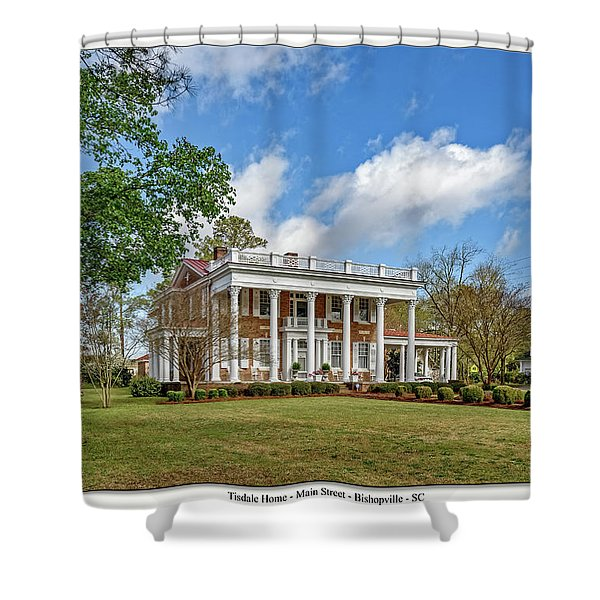 The Manor Shower Curtain