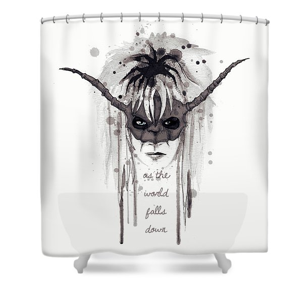 The Masquerade 2 Shower Curtain