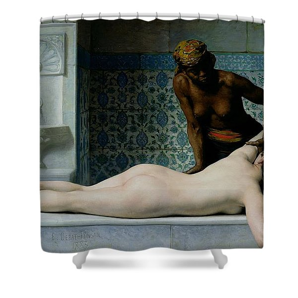 The Massage Shower Curtain