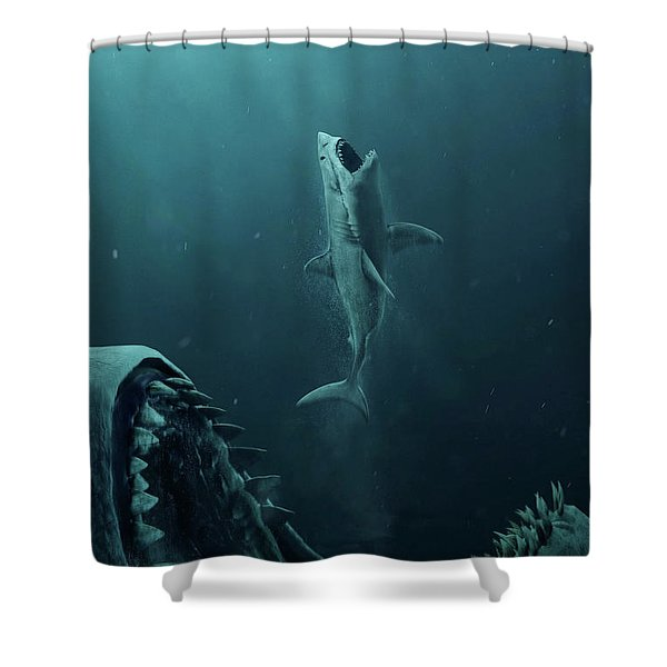 The Meg 5.0.3 Shower Curtain