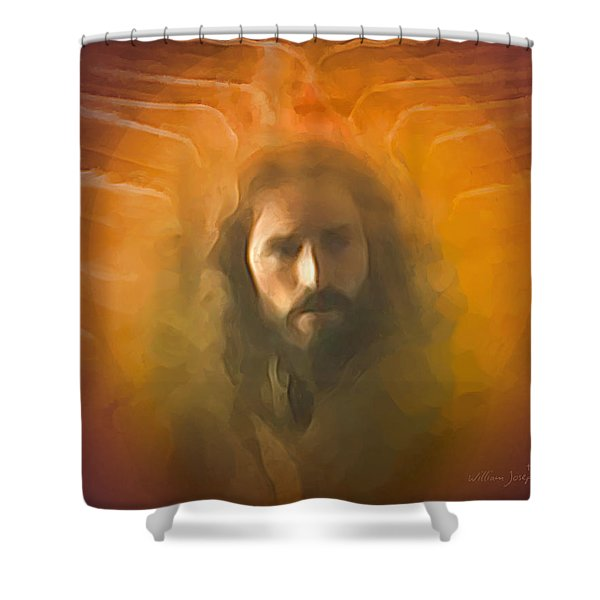 The Messiah Shower Curtain