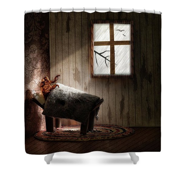 The Metamorphosis Redux Shower Curtain