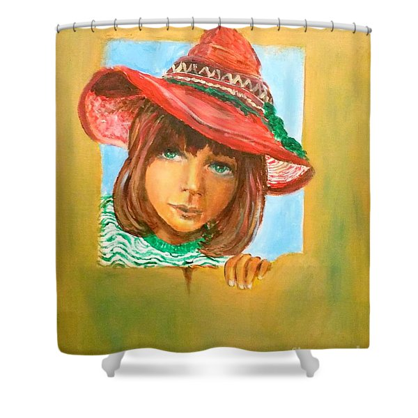 The Mexican Hat Shower Curtain