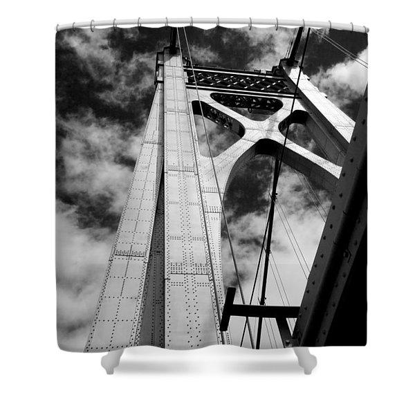 The Mid-hudson Bridge Shower Curtain