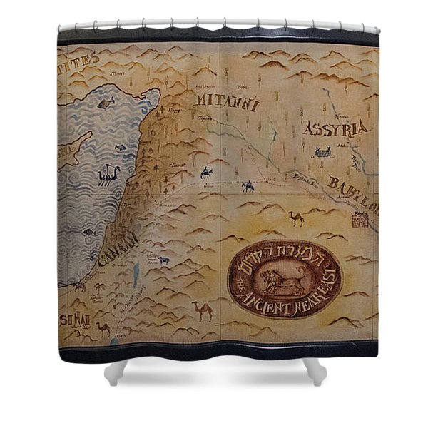 Shower Curtain featuring the photograph The Middle East by Mae Wertz