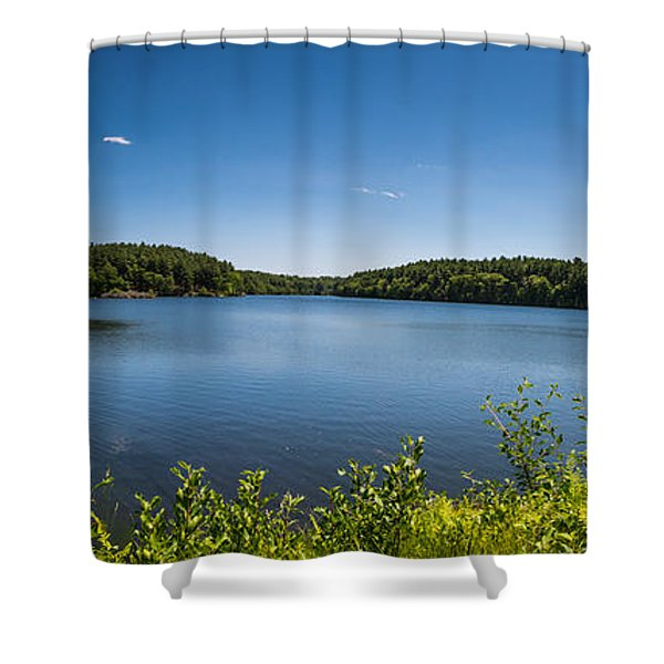 The Middle Of The Afternoon Shower Curtain