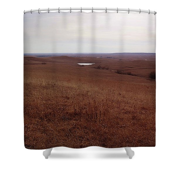 The Middle Of The Flint Hills Shower Curtain