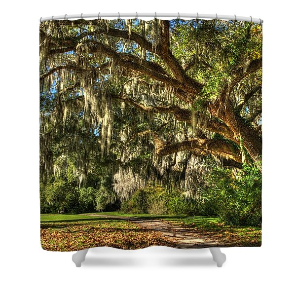 The Mighty Oaks 2 Shower Curtain