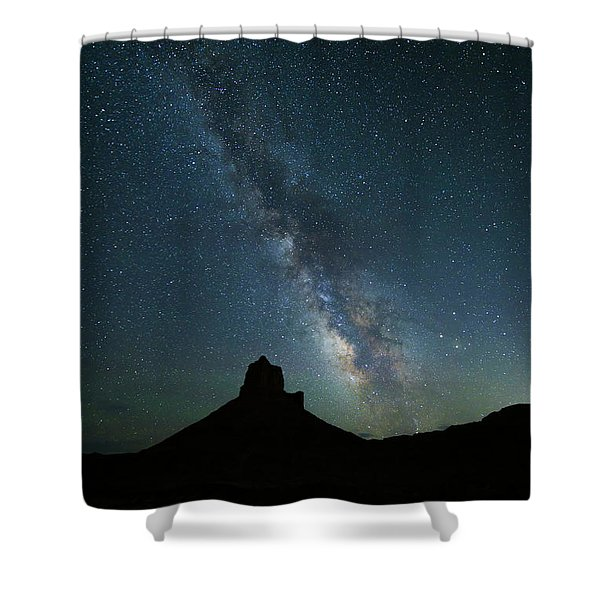 The Milky Way Shower Curtain