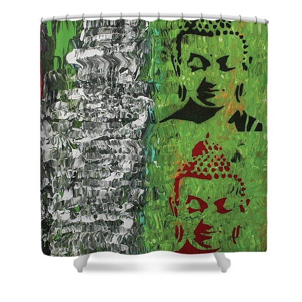 The Mind Is Everything Shower Curtain