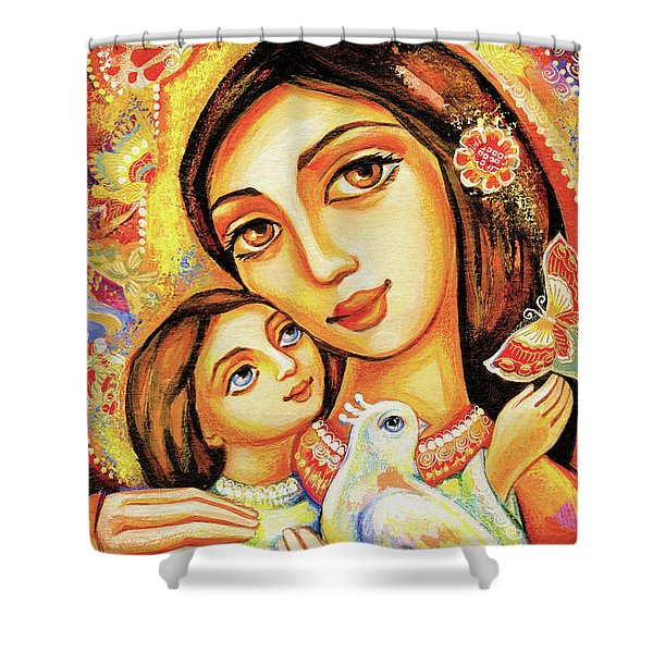 The Miracle Of Love Shower Curtain