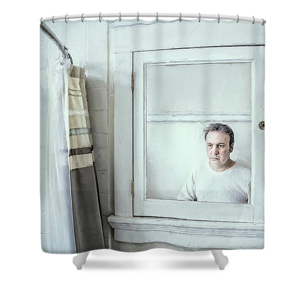 The Mirror Shower Curtain