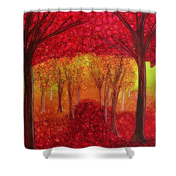 The Missing Colours Shower Curtain