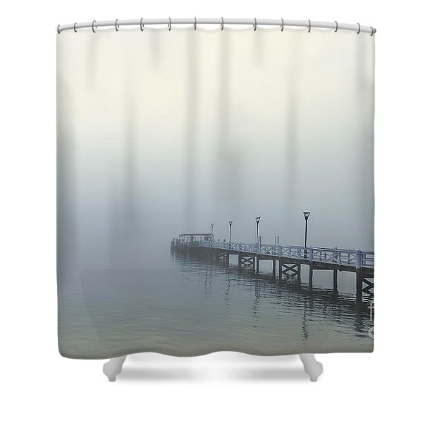 The Mist That Hides Your Trace Shower Curtain