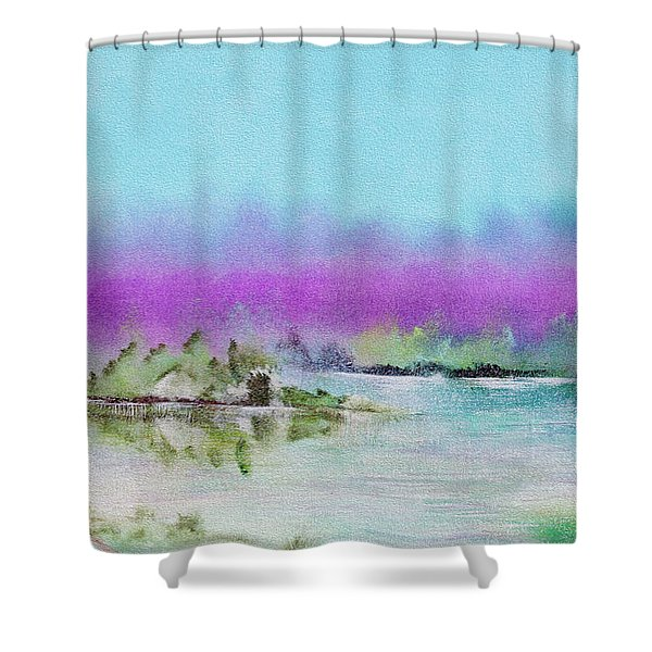 The Mist Shower Curtain